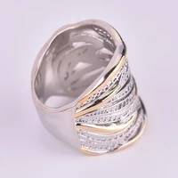 new exquisite bohemian small crystal inlaid ring for ladies leaf rhinestone ring party accessories size 6 10