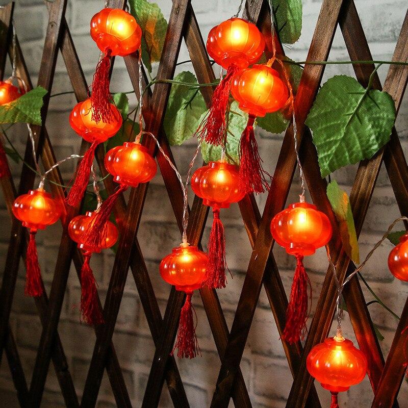 Luces LED de festividades de 2M 10 luces LED con carga USB...