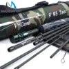 Maximumpick – canne à pêche à la mouche de voyage 4/7 Section en Fiber de carbone IM10/36T SK Action rapide 9FT 5WT avec Tube Cordura