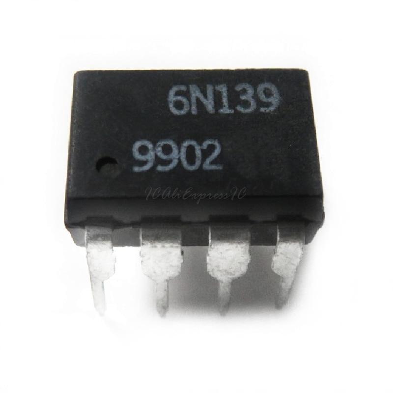 10 unids/lote 6N139 EL6N139 A6N139 HCPL-6N139 SOP8 DIP-8 SMD-8 en Stock