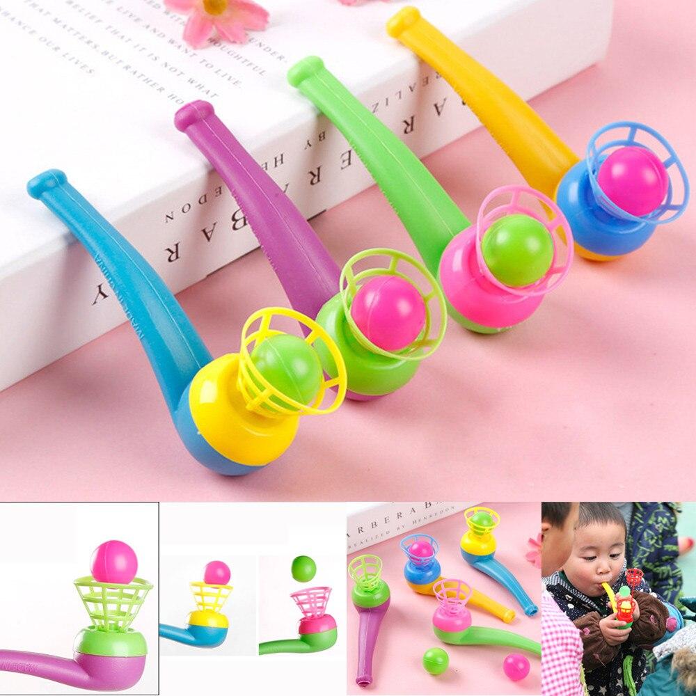 Pipa de soplado y bolas-Botín de juguete para piñata/relleno de bolsas de fiesta boda/niños