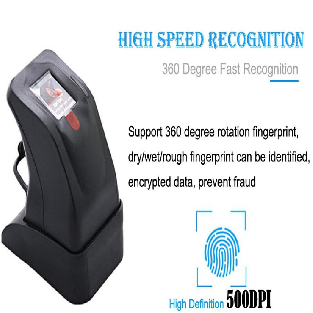 قارئ بصمات الأصابع USB ZK4500 ، قارئ بصمات الأصابع ، ماسح ضوئي لبصمة الإصبع ، SDK مجاني