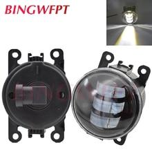 2 قطعة/زوج LED أضواء الضباب لهوندا أكورد CR-V صالح إنسايت CR-Z الطيار مدينة كروستور أكورا TSX TL RDX ILX