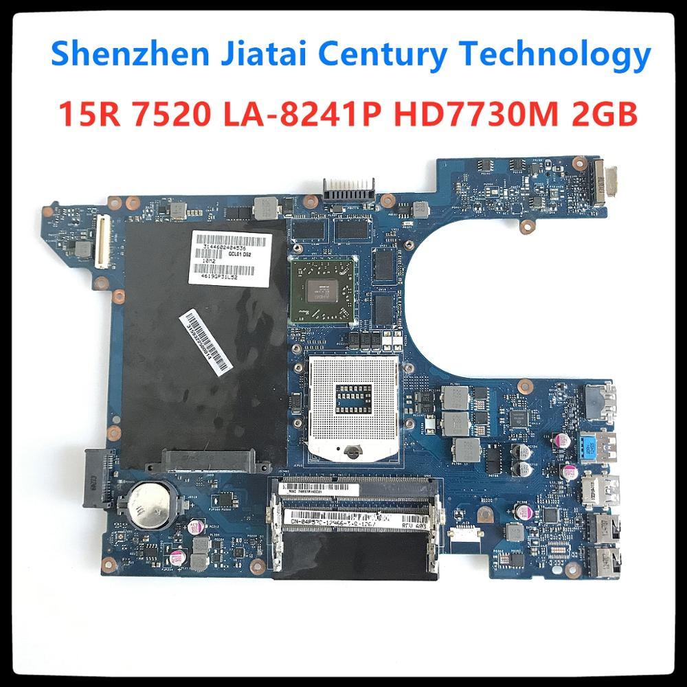 QCL00 LA 8241P материнская плата для ноутбука Dell Inspiron 15R 7520 5520 материнская плата CN 04P57C 4P57C Radeon HD 7730M HD4000 материнская плата Материнские платы      АлиЭкспресс