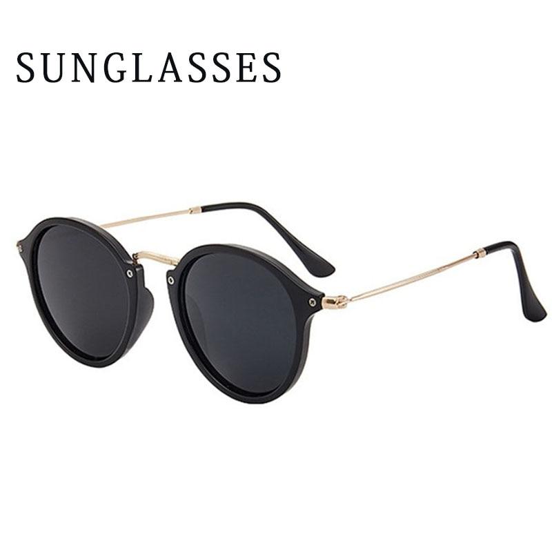 Fashion Coating Round Women Sunglasses Retro Sunglasses Vintage Mirrored Eyewear UV400 Gafas De Sol