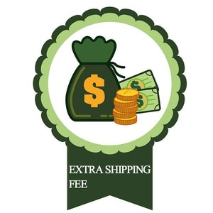 Extra Shipping Fee for Your Orders, If you need pay more $10, You need choose the Quantity is 10, Then amount is 10 * 1=$10