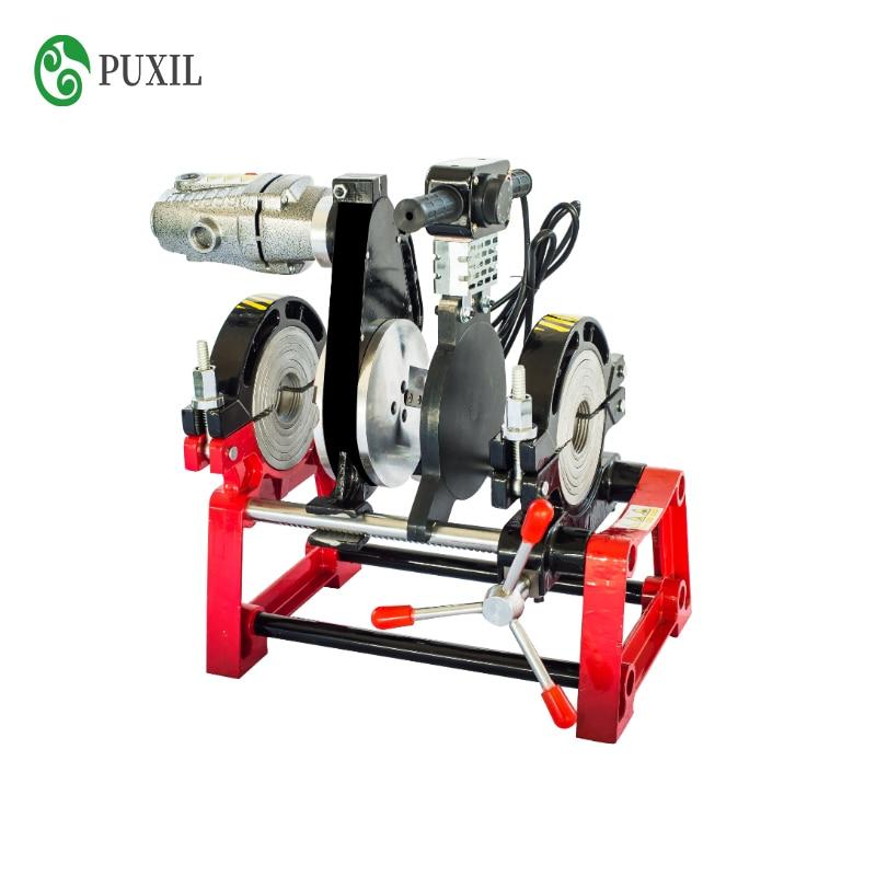 Manual Hot Melt Hydraulic Two Ring Docking Machine PE/ PPR/ PB/ PVDF Pipe Butt Welding Machine