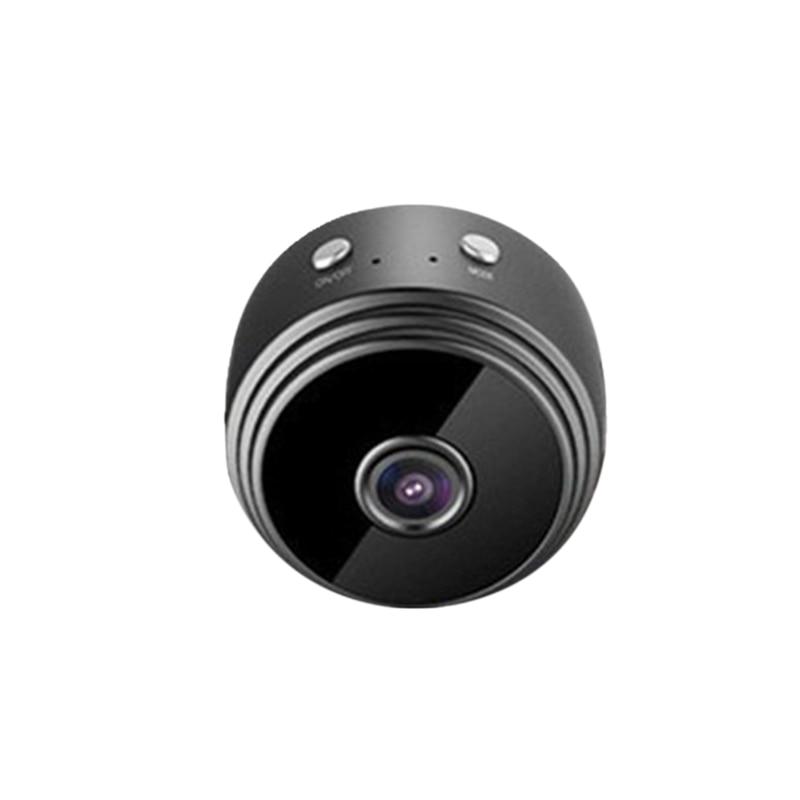 HOT-A9 kamera Mini kamera okrągła HD 1080P Night Vision WiFi kamera IP pilot ssania wideo-rejestrator sportowy uchwyt DV