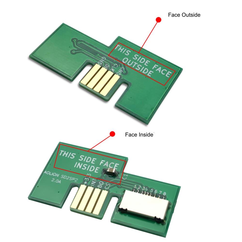 Адаптер для kingd NGC SD2SP2 поддержка последовательного порта 2 профессиональный адаптер карты Micro SD TF кард-ридер SD2SP2 SDLoad SDL адаптер
