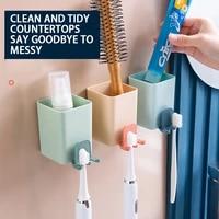 home creative toothbrush holder toothbrush holder powerful suction cup toothbrush holder set device holder
