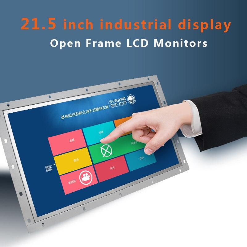 "21,5 zoll Industrie Computer Monitor HDMI DVI VGA TV USB Open Frame 21.5 ""LCD display 1920*1080 169"