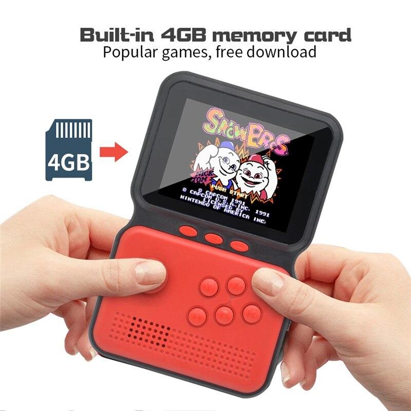 Consola de juegos Retro portátil para niños, Mini Consola de videojuegos con...