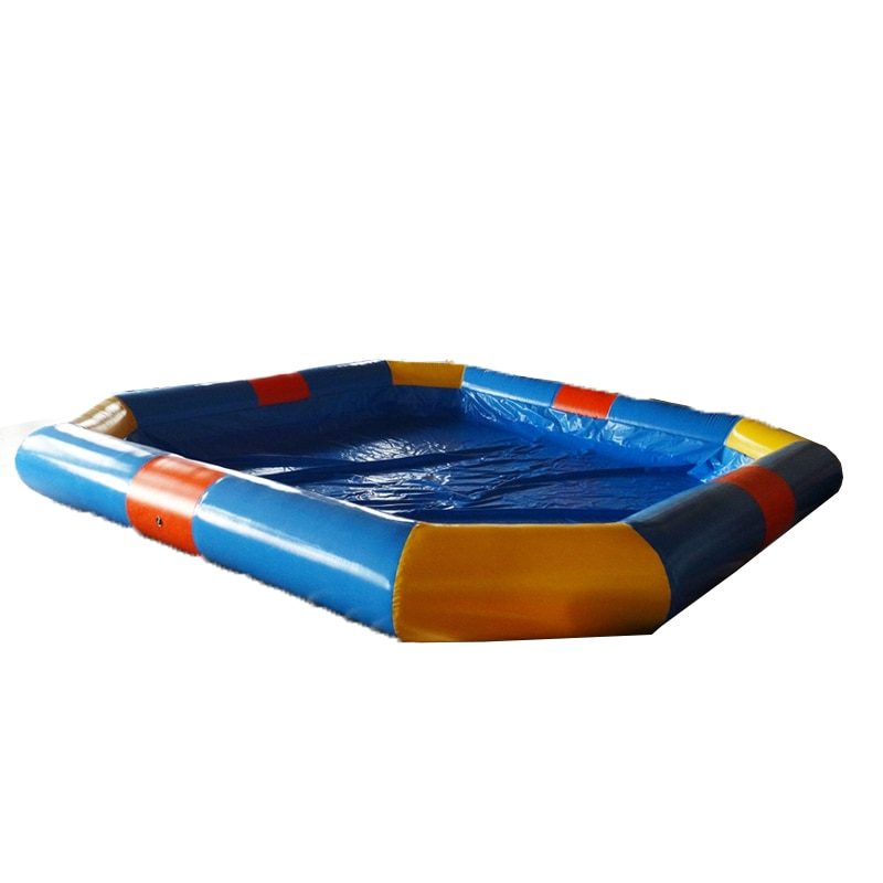 Giant  Outdoor Inflatable Water Game Swimming Pools Shape Round Amusement Park For Children With Air Pump