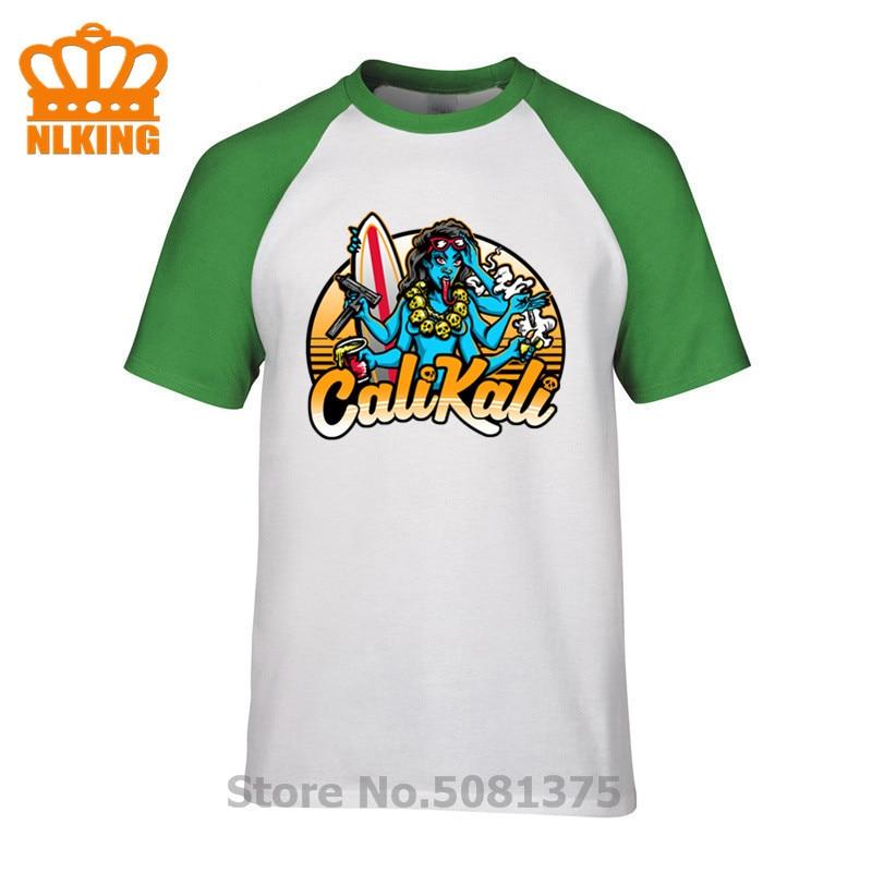 2019 Mens camisas Cali camiseta Cali Kali camisetas de verano hombre Popular camiseta 100% Camiseta de algodón cuello redondo T camiseta Cool camisetas