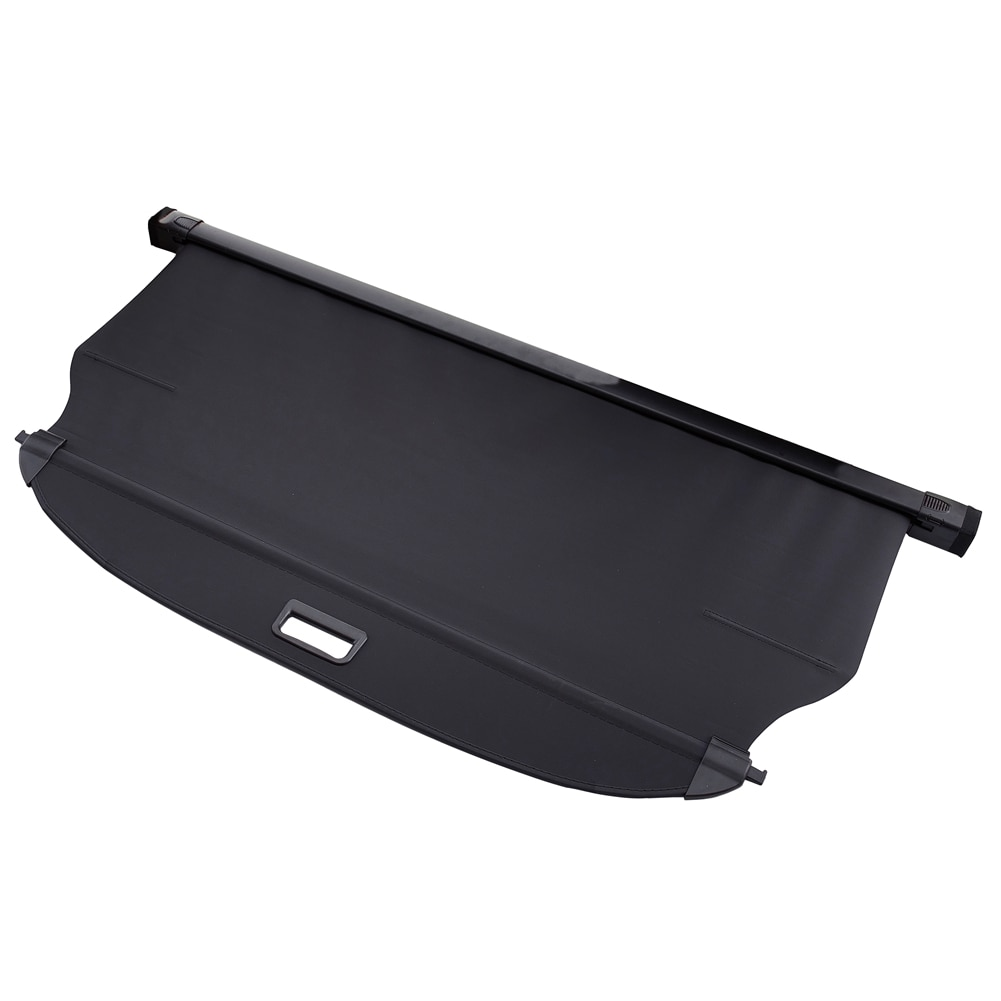 car rear trunk security shield cargo cover for toyota land cruiser prado 120 2003 2009 high qualit trunk shade security cover Black Car Rear Trunk Cargo Luggage Shade Security Shield Cover For Hyundai Tucson 2015-2020