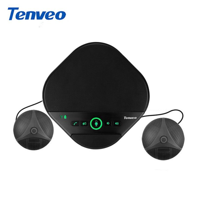 TEVO-A3000EX USB مكبر الصوت ميكروفون usb مؤتمر أفضل مكبر الصوت مع 2 الميكروفونات الموسعة للمكالمات