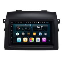 سيارة راديو GPS كاميرا أمامية شحن خريطة USB vidio HD1080 مشغل وسائط متعددة لتويوتا سيينا 2004-2010 7 بوصة الروبوت 8.1