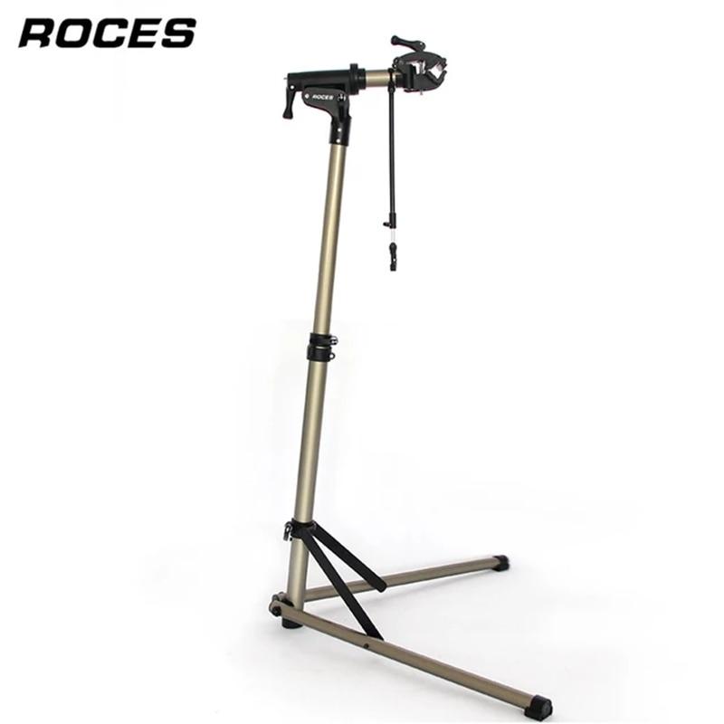 Aluminum Alloy Bike Work Stand Professional Bicycle Repair Tools Adjustable Fold Bike Rack Holder St