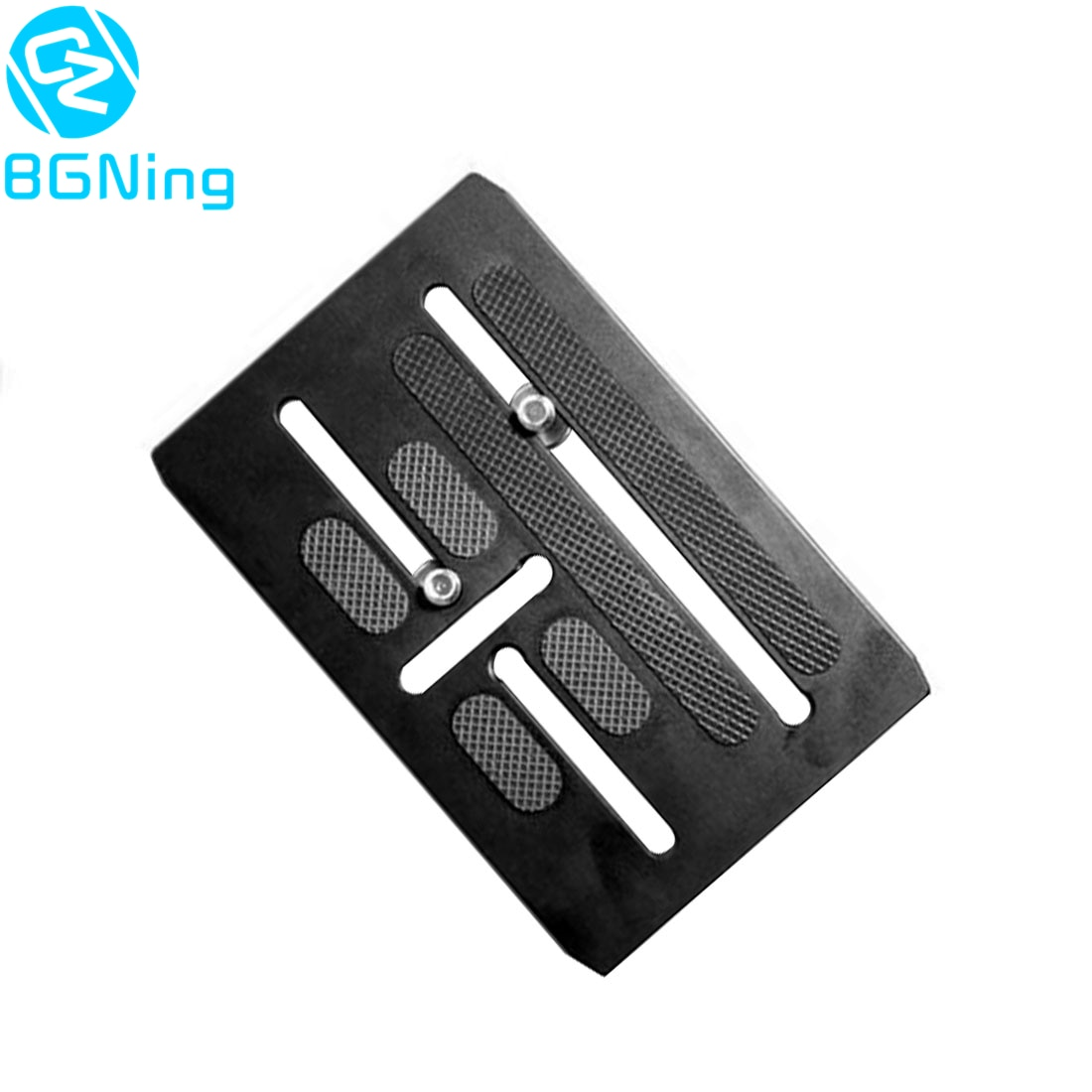Kit de placa de liberación rápida para cámara BGNing para placa de montaje BMPCC 4K para grúa zhiyun Crane2 3 para cardán DJI Ronin S