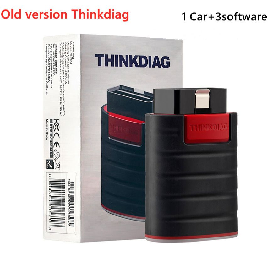 DHL Free THINKCAR Old version Full System All Software 1year free OBD2 Diagnostic Tool 16 reset services Auto Scanner