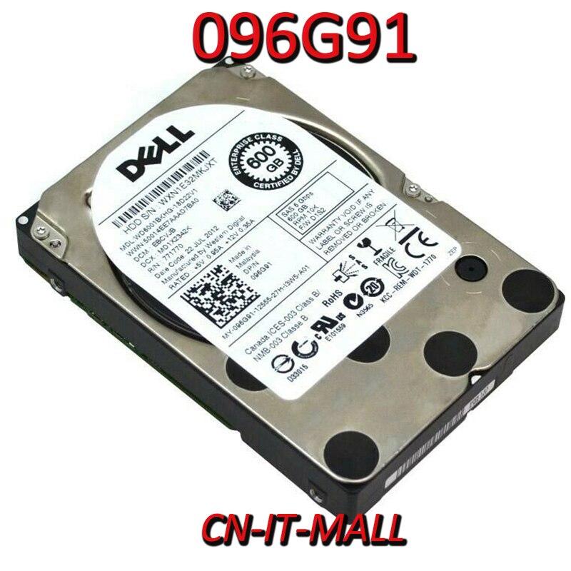"Extrajo 096G91 96G91 WD6001BKHG 600GB 10000 RPM 32MB Cache SAS 6 Gb/s 2,5 ""empresa interna disco duro"
