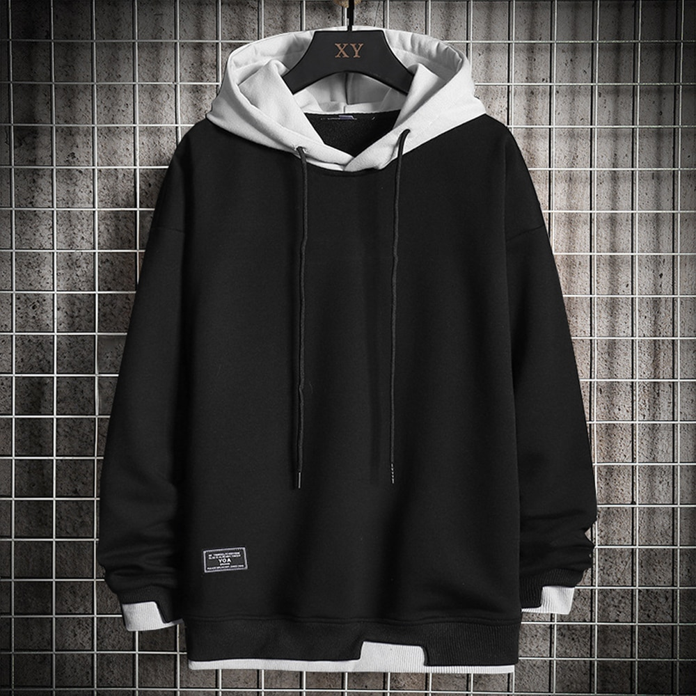 toy 4 boys hoodie track and field sportswear boutique clothing casual hoodie boys hoodie autumn and winter hoodies tops Men Hoodies Casual Harajuku Hoodie Solid Color Men Fashion Clothing Tops Pullover Hoodie Men Spring and Autumn Sweatshirt 2021