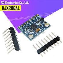 1 pièces GY-521 MPU-6050 MPU6050 3 axes Gyroscope capteurs + 3 axes accéléromètre Module pour avec broches 3-5V DC
