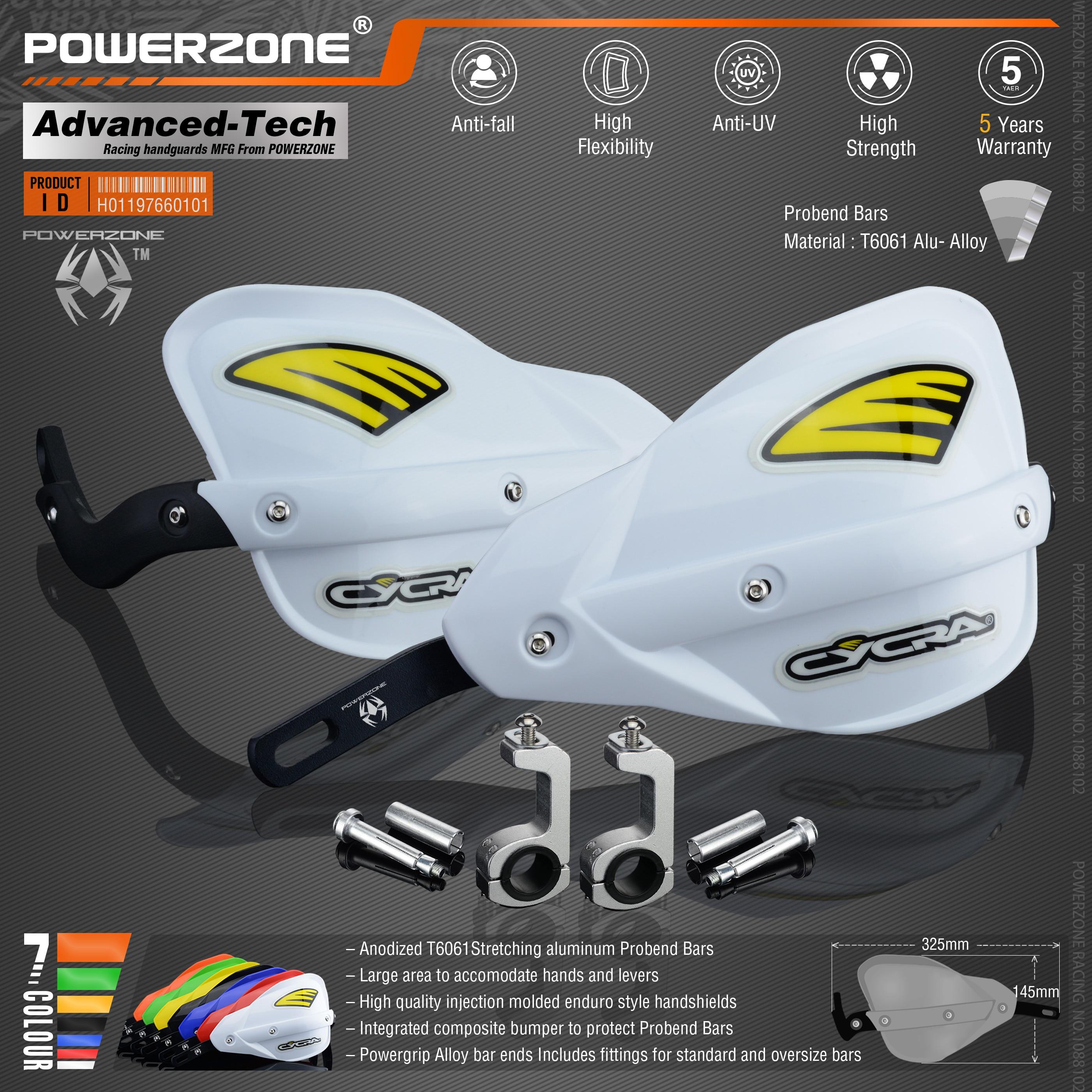 Powerzone Probend Handguards For Honda KTM ADV EXC EnduroHusqvarna TE CRF WRF DRZ KLX Motorcycle Dirt Bike ATV Handlebar
