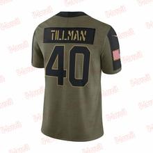 Custom Stitch Cardinals Mens Women  Limited Olive Football Player T-shirt Watt Tillman Hopkins Murra