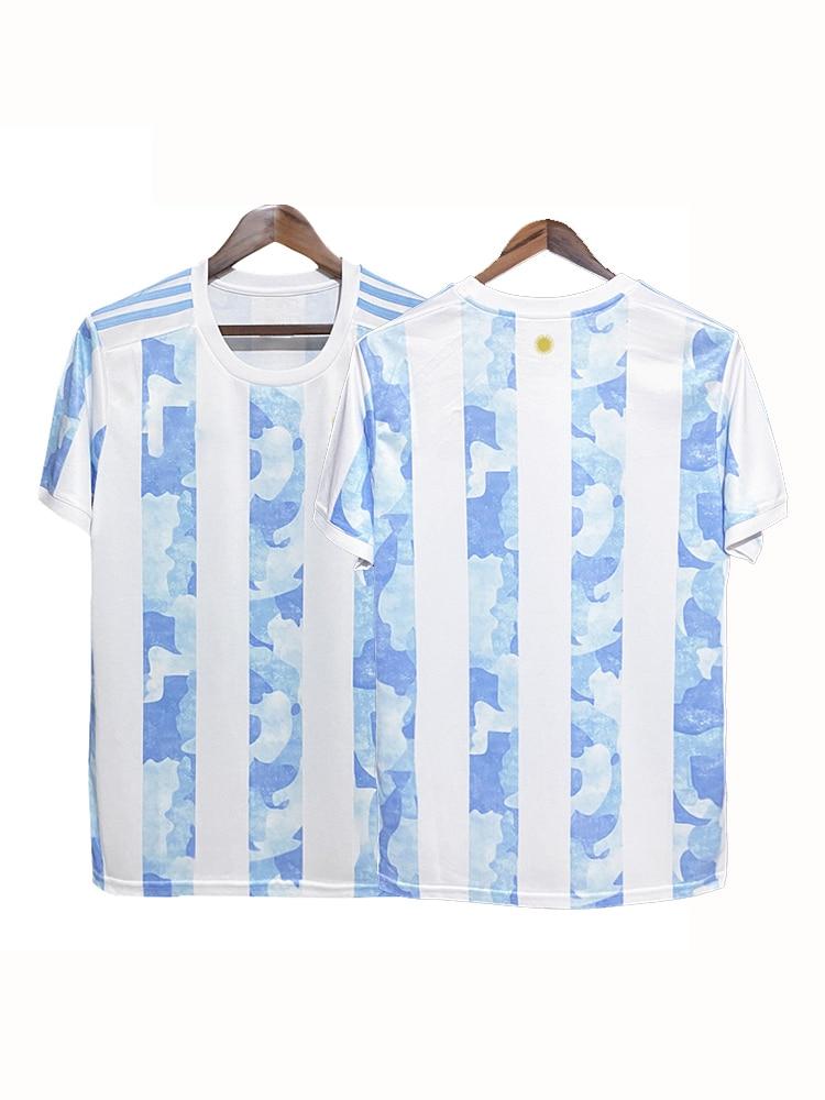 2020 21 Argentina De Fútbol Jersey 20 21 MESSI Lautaro DYBALA 2021AGUERO...