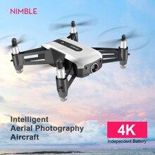Drone RC 4K avec caméra HD WiFi 1080 caméra grand angle suivez-moi quadrirotor FPV quadrirotor bras pliable maintien daltitude VS D2