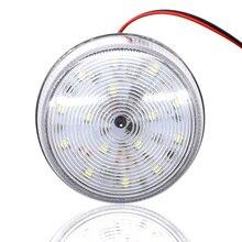 Signal durgence LED220V AC blanc   Pour porte coulissante, voyant davertissement