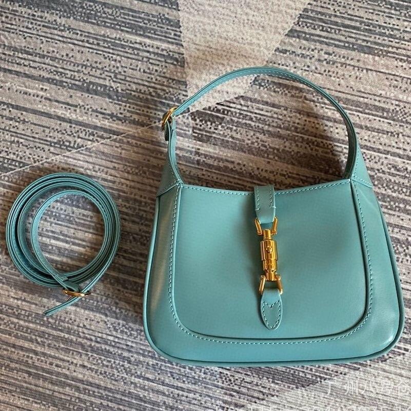 جديد جاكي 1961 حقيبة تحت الإبط مع الحصان المشبك الجلود الفرنسية عصا المرأة حقيبة صغيرة واحدة الكتف حقيبة ساعي