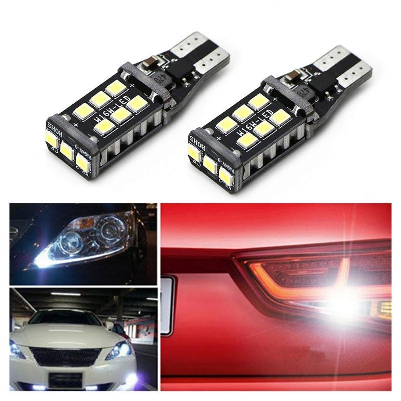 15SMD 2835 T15 W16W LED Filament Glühbirnen 5 W Blinker Schwanz Parkplatz Umge Lampe Anzeige Lampe Rot Weiß gelb