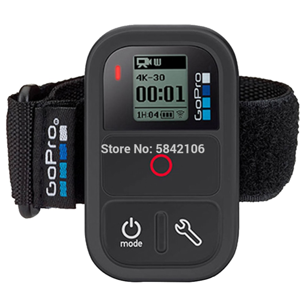 GoPro Bluetooth Wifi Smart Waterproof Remote Control for Hero 8 7 6 5 Black Action Camera ARMTE-002 Original Official Accessory
