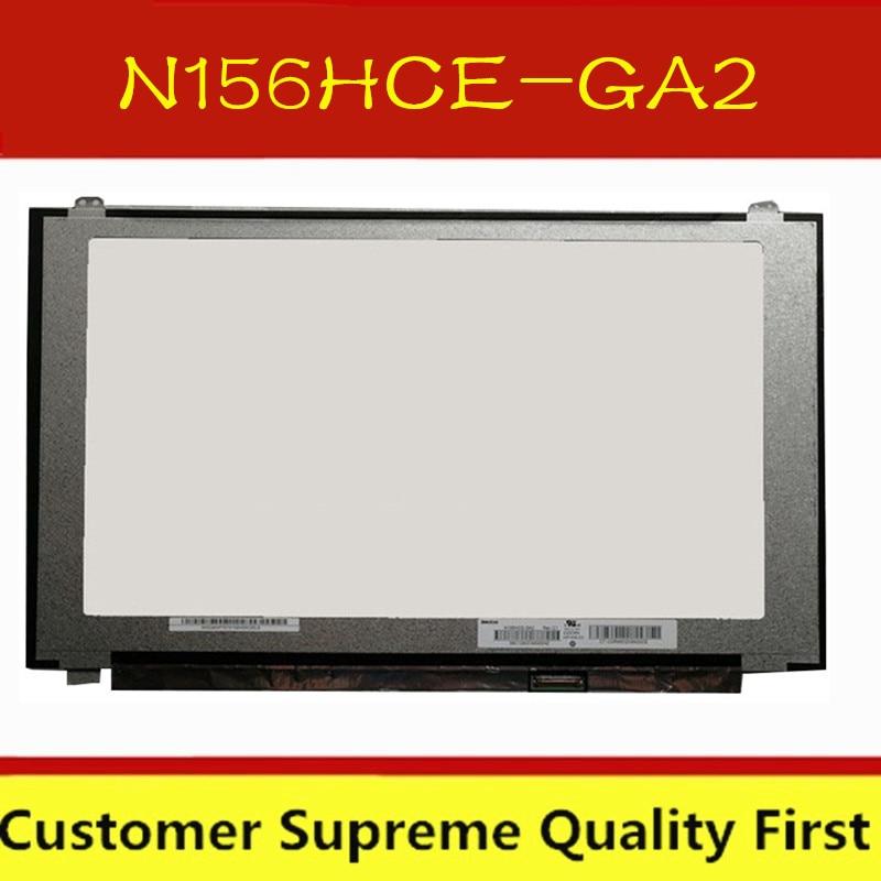 """Бесплатная доставка 120 Гц 15,6 """"светодиодный ЖК-экран N156HCE-GA2 ips 1920x1080 FHD 72% NTSC eDP 30 контактов панель Замена N156HCE GA2"""