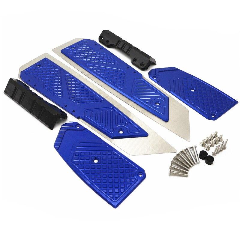Reposapiés CNC para motocicleta, piezas de placa de Pedal para Honda Forza300 MF13 FORZA 300 125 250 2018 2019 2020