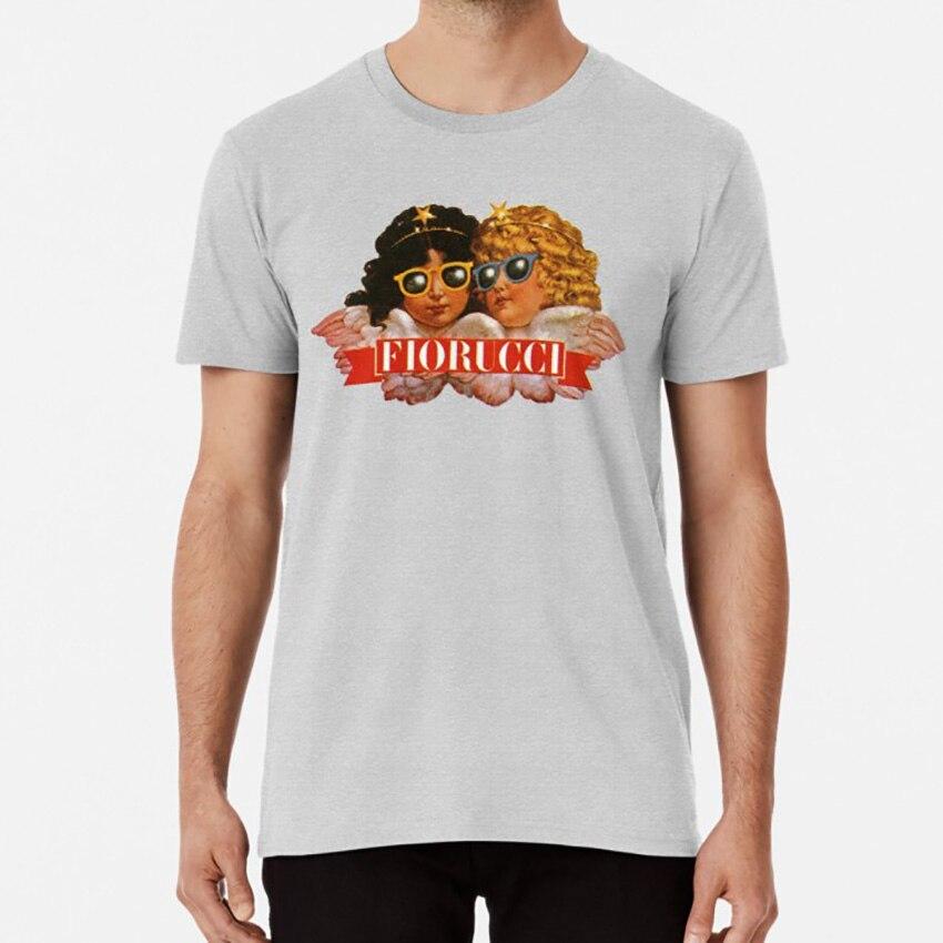Fioruucci camiseta fiorucci vintage italiano retro marca de moda clásica