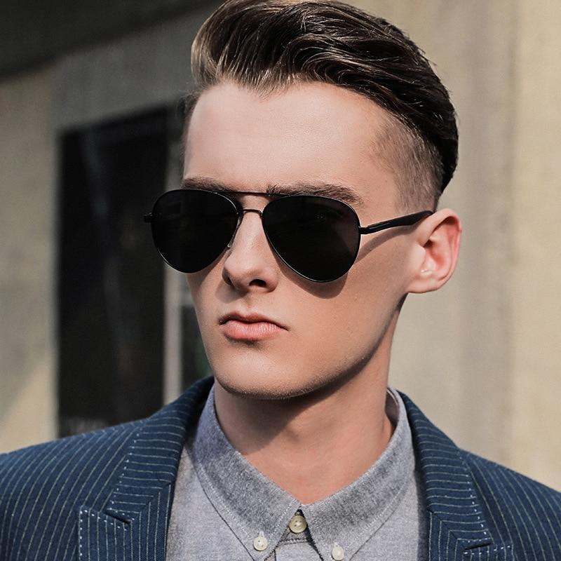 GCV Men's Sunglasses Rayban Vintage 2021 Designer Sunglasses For Men Designer Decorative TAC Glasses Gafas De Sol Hombre UV400