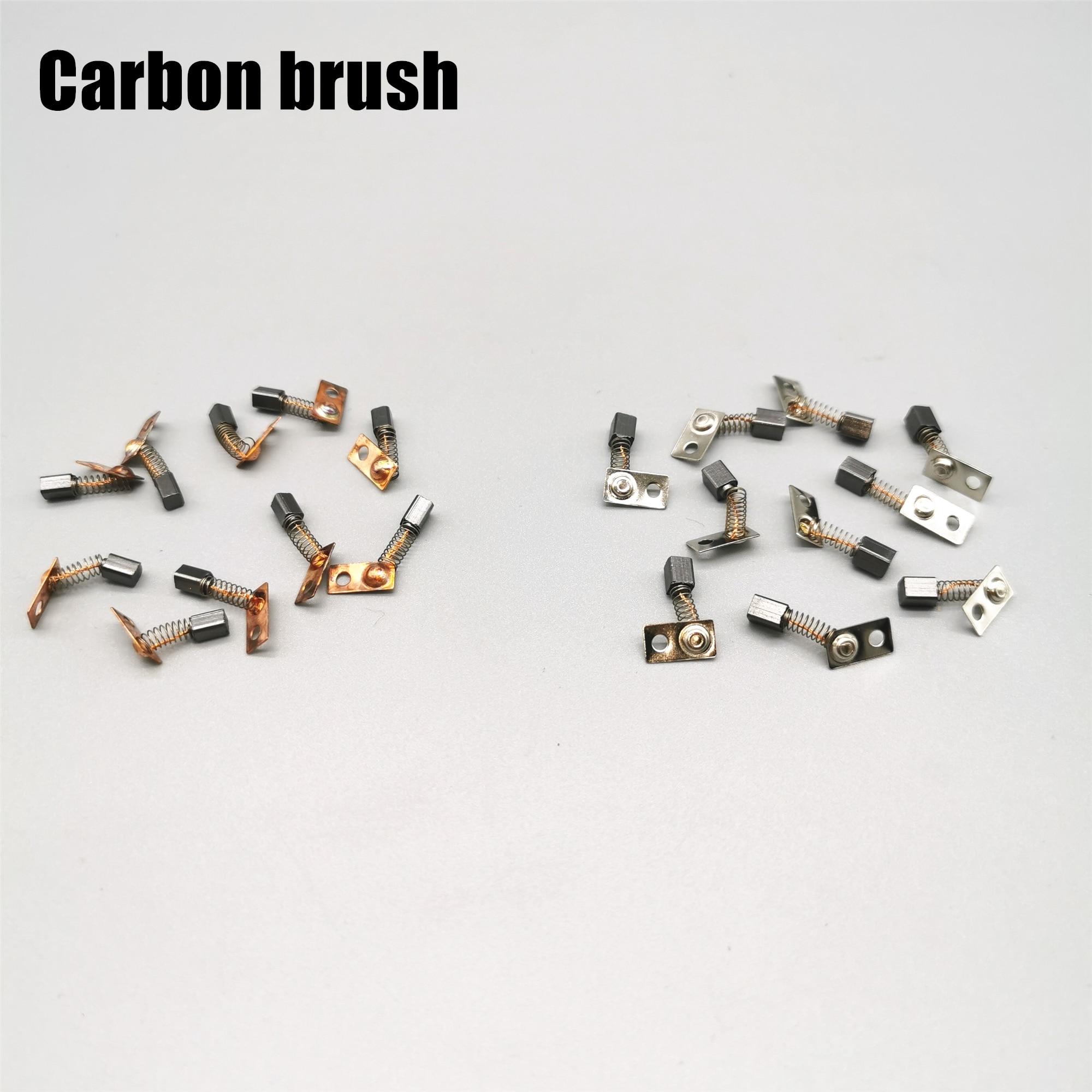 10 шт. Углеродные щетки сильные 210 90 204 марафон заменить 102 105л ручка углеродная щетка все сильные электрические маникюрные сверла аксессуары