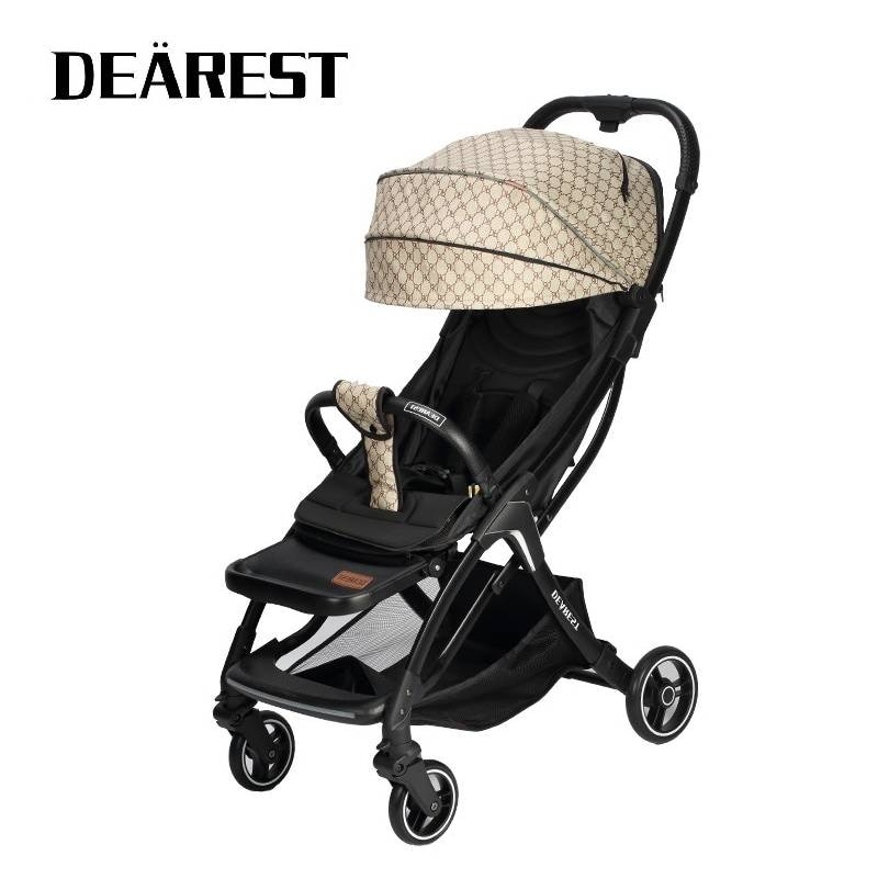 DEAREST A8L Baby Car Shipping Free Ultra-Light Folding Can Sit Or Lie High Landscape Suitable for 4-Season High Demand