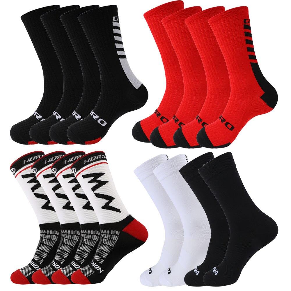 Компрессионные носки, носки, женские велосипедные носки, футбольные носки, высокие носки до бедра, носки для бега, спортивные носки, носки, б...