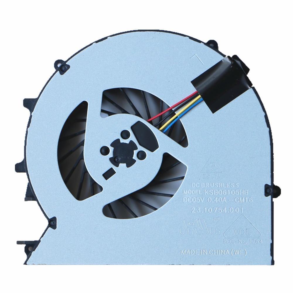 450G0 QAOOO Original Ventilador da Cpu Para HP ProBook 450 G1 450G1 455 G1 455G1 470G0 470G1 Cpu Cooling Fan 721937-001