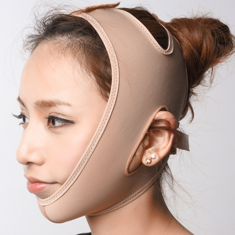 Face V Shaper Facial Slimming Bandage Relaxation Lift Up Belt Shape Lift Reduce Double Chin Face Thi
