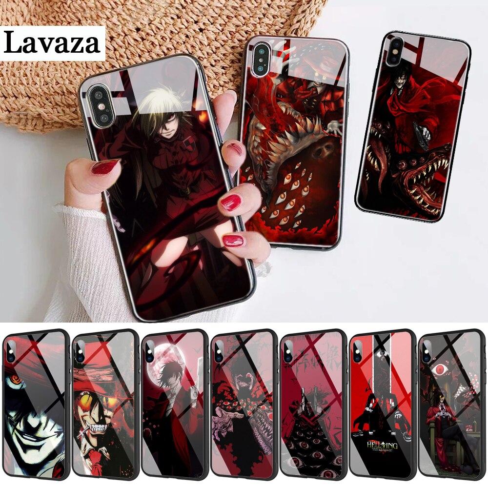 28d Anime Hellsing Alucard ventilador de caja del teléfono para Apple iPhone 11 Pro XR X XS X máx. 6S 6 7 8 Plus 5 5S SE