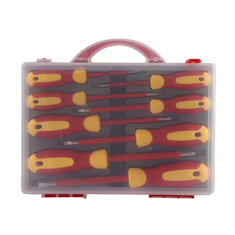 8Pcs Insulated Screwdriver Set Slotted Torx Magnetic Screwdriver Bits Double End Phillips Screw Bit Set For Electricians Tools недорого