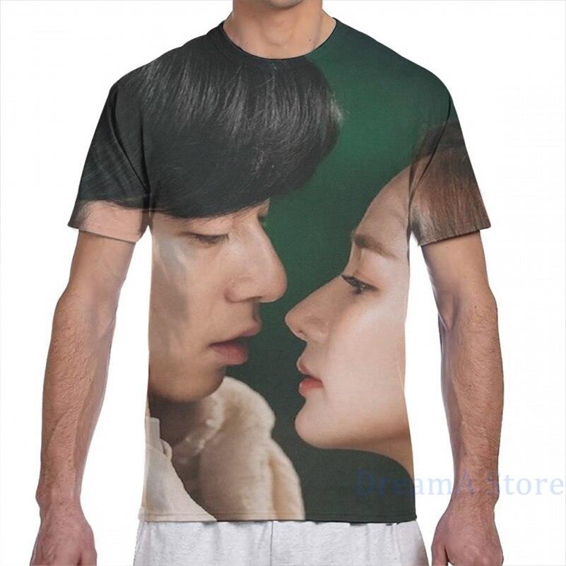 ¿Qué pasa con el Secretario Kim DRAMA K hombres camiseta mujer Impresión de moda chica t camisa tops tees camisetas de manga corta