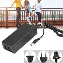 Chargeur dadaptateur de puissance de batterie de 29.4V 2A pour le Scooter électrique déquilibrage de Scooter Hoverboard pièces prise des états-unis/ue/royaume-uni