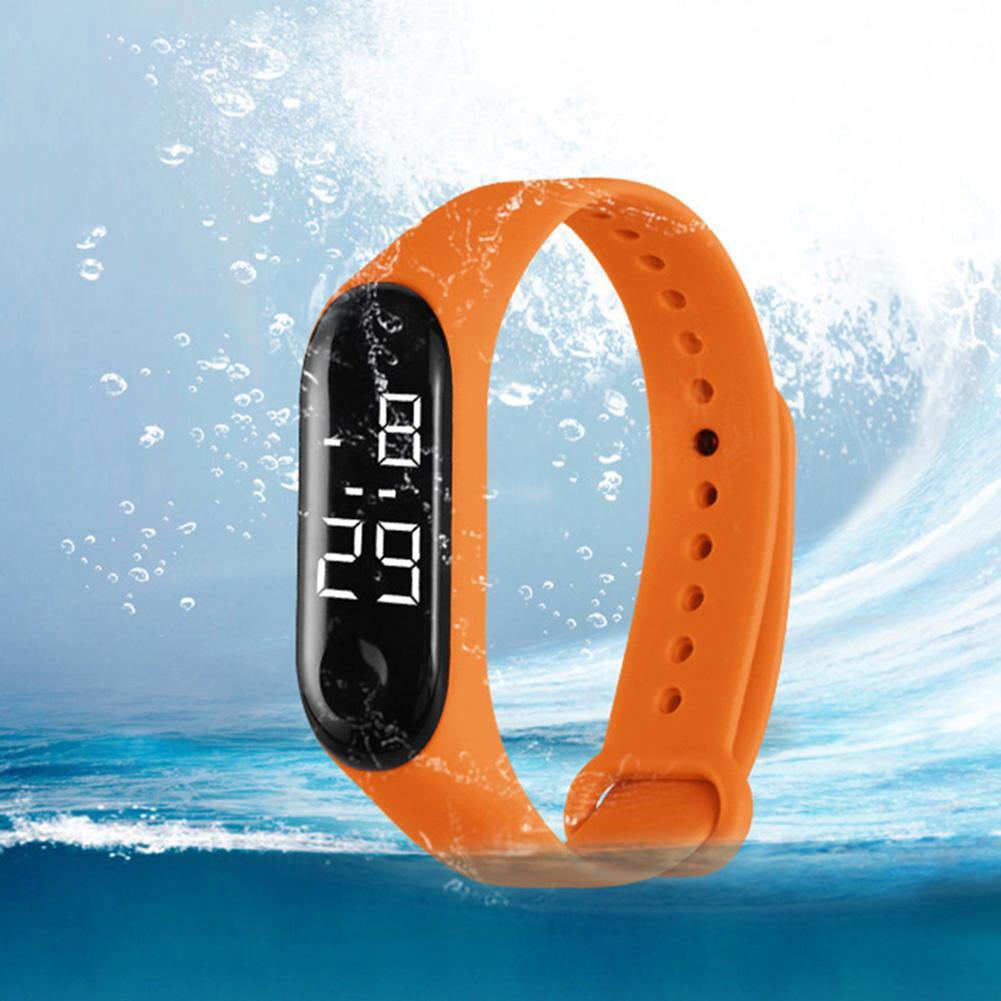 Reloj Digital para niños, correa de TPU blando para deportes al aire...