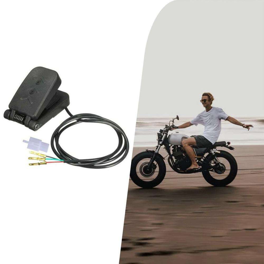 Electric Scooter Foot Pedal Throttle Accelerator Universal For Electric Bikes Scooters Direct Replacement enlarge